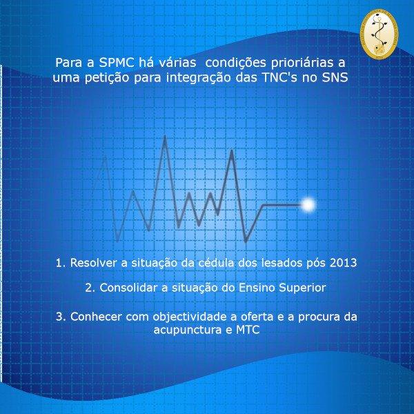 Petição para a integração das TNC's no SNS